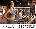 フィットネス フィットネスジム ランニングマシンの写真 46077615