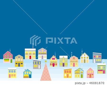 街並み クリスマス 夜 46081870