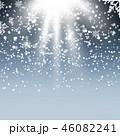 クリスマス バックグラウンド 背景のイラスト 46082241