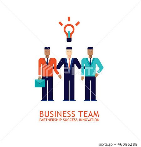 Partnership Teamwork business team success concept 46086288