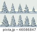 樹木 樹 ツリーのイラスト 46086847