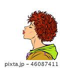 ベクトル 女の子 女子のイラスト 46087411