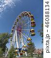Atraktsion colorful ferris wheel against the sky 46088134