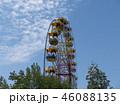 Atraktsion colorful ferris wheel against the sky 46088135