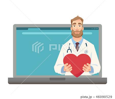 Online medicine concept 46090529