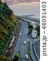 電車 海 風景の写真 46091403