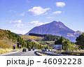 大分自動車道 道路 山の写真 46092228