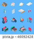 アイコン セット 組み合わせのイラスト 46092428
