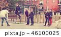 キッズ 子供 ジャンプの写真 46100025