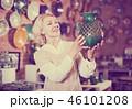 ショップ 店 女性の写真 46101208