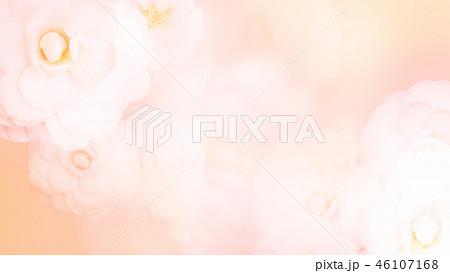 和-和風-和柄-背景-和紙-牡丹-ピンク 46107168