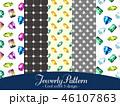 ジュエリー パターン 宝石のイラスト 46107863