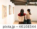 女性 ギャラリー 美術館の写真 46108344