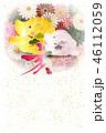 亥 亥年 菊のイラスト 46112059