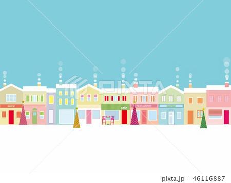 街並み クリスマス  46116887