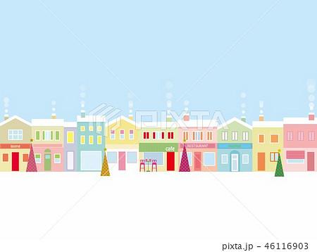 街並み クリスマス  46116903