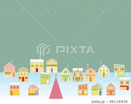 街並み クリスマス 星 46116926