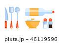 キッチン 厨房 台所のイラスト 46119596