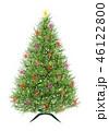 Abstract Christmas tree, vector 46122800
