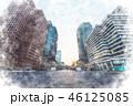 丸の内 風景 街のイラスト 46125085