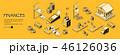 アイソメトリック アイソメ 等角図のイラスト 46126036