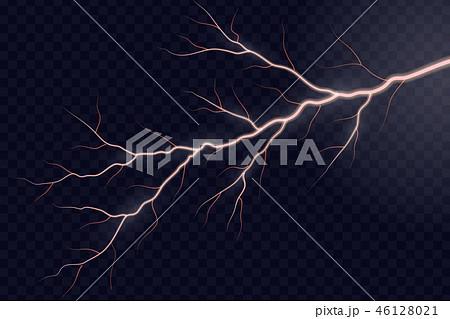 Lightning electric thunder 46128021