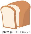 食パンのイメージイラスト 46134278
