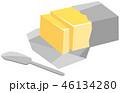 バターのイメージイラスト 46134280