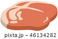 牛肉のイメージイラスト 46134282