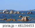 海岸 日本海 風景の写真 46134453