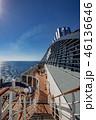 クルーズ 船旅 豪華客船の写真 46136646