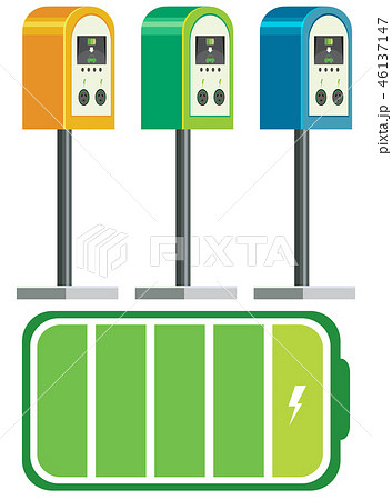 Electric car charger battery 46137147