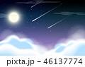 ナイト 空 背景のイラスト 46137774