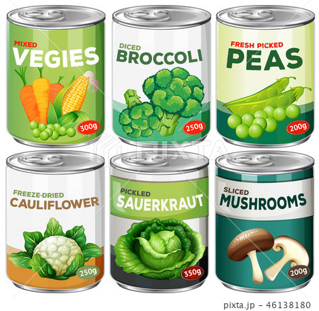 Set of canned vegetable 46138180