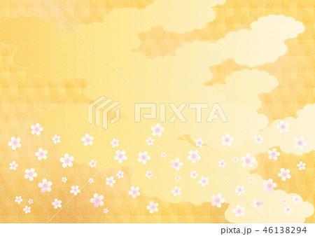 背景素材(サクラ) 46138294