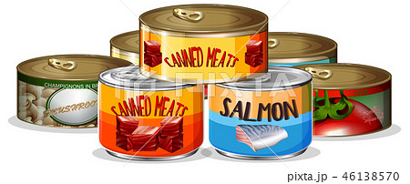Set of canned food 46138570