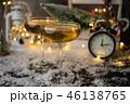 シャンパン シャンペン 掛け時計の写真 46138765