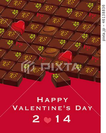 バレンタインデー ポスター 46138836