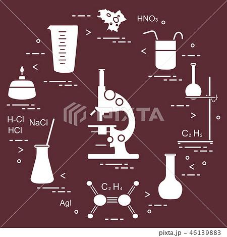 Chemistry scientific, education elements 46139883