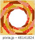 紅葉 フレーム 背景のイラスト 46141824