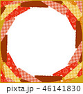 紅葉 フレーム 背景のイラスト 46141830