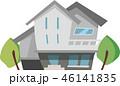 家 住宅 一軒家のイラスト 46141835