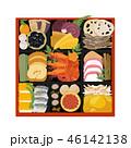 ベクター 正月 正月料理のイラスト 46142138