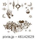クリスマス ベクトル お菓子のイラスト 46142629
