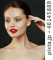 メイクアップ 化粧 お化粧の写真 46145889