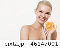 オレンジ オレンジ色 橙の写真 46147001