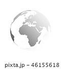 地球 惑星 地図のイラスト 46155618