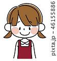 ベクター 女の子 幼児のイラスト 46155886