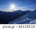富士山 北岳 朝日の写真 46158526