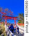 高尾山 秋 薬王院の写真 46159680